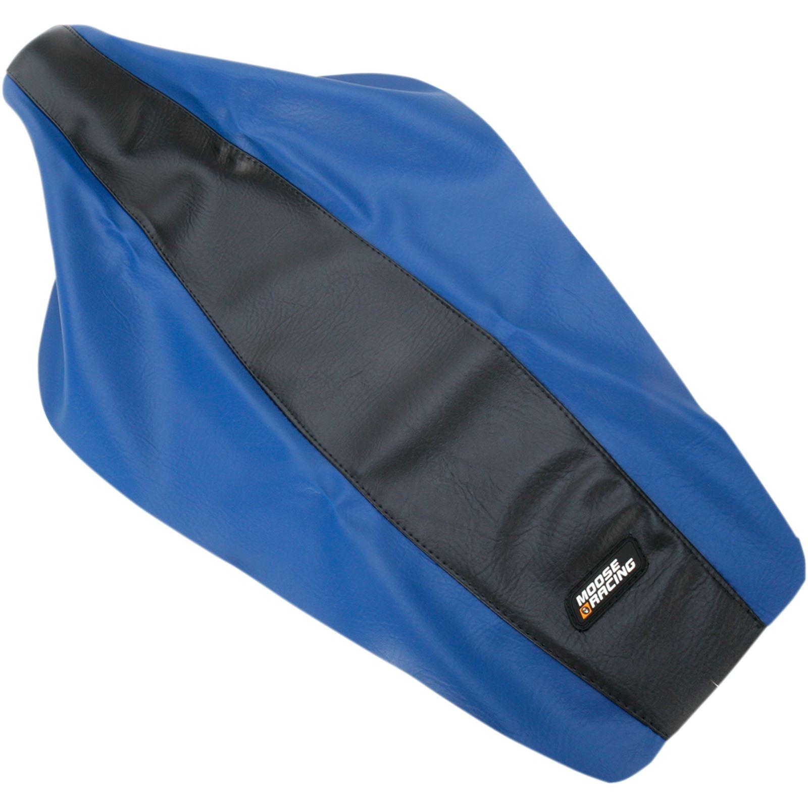 Moose Racing Seat Cover - Blue/Black - Yamaha