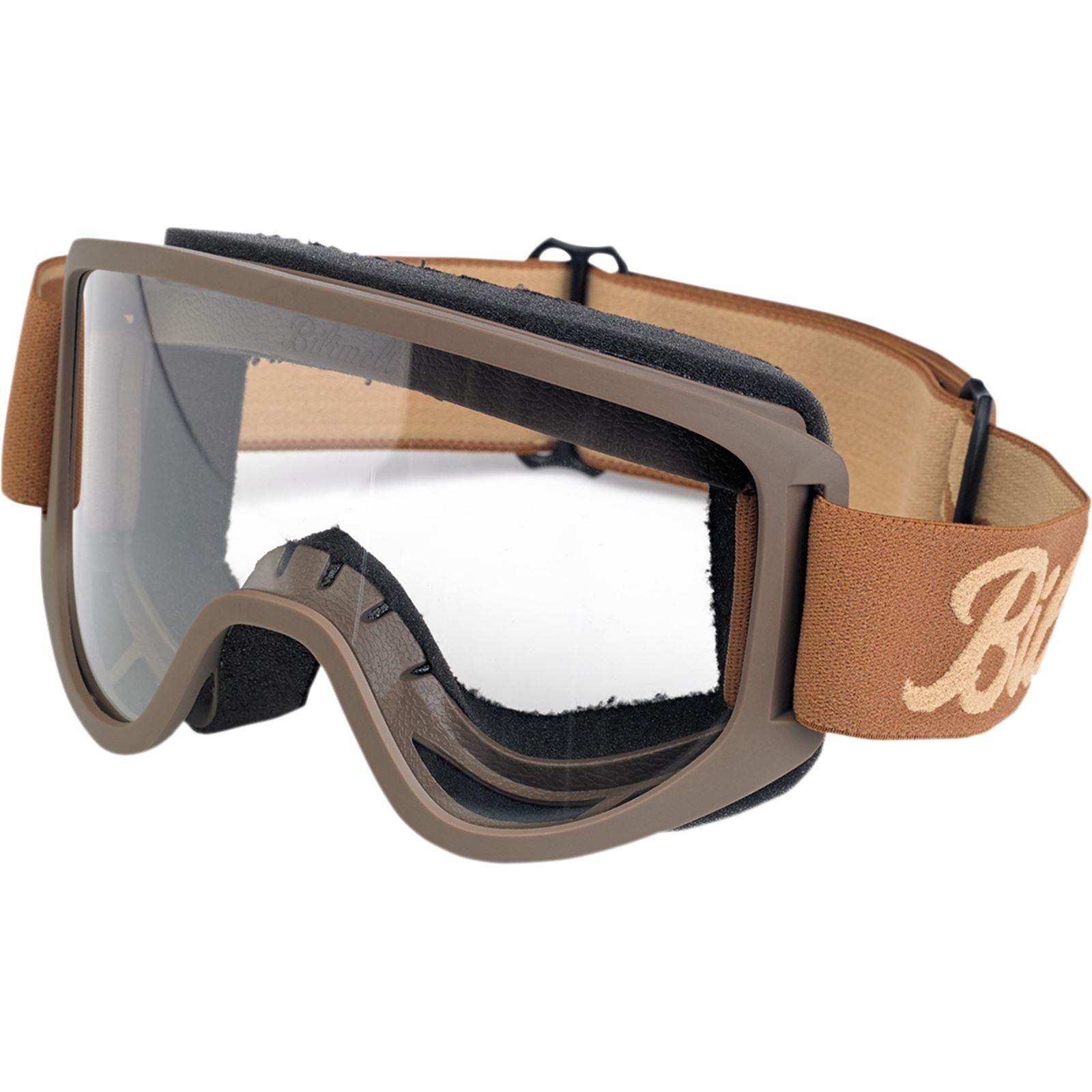 Biltwell Inc. Moto 2.0 Goggles - Chocolate/Sand