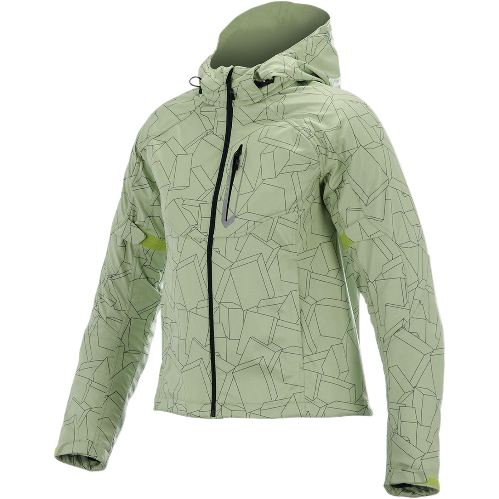 Alpinestars Stella Spark Softshell Jacket - Green/Black - Medium