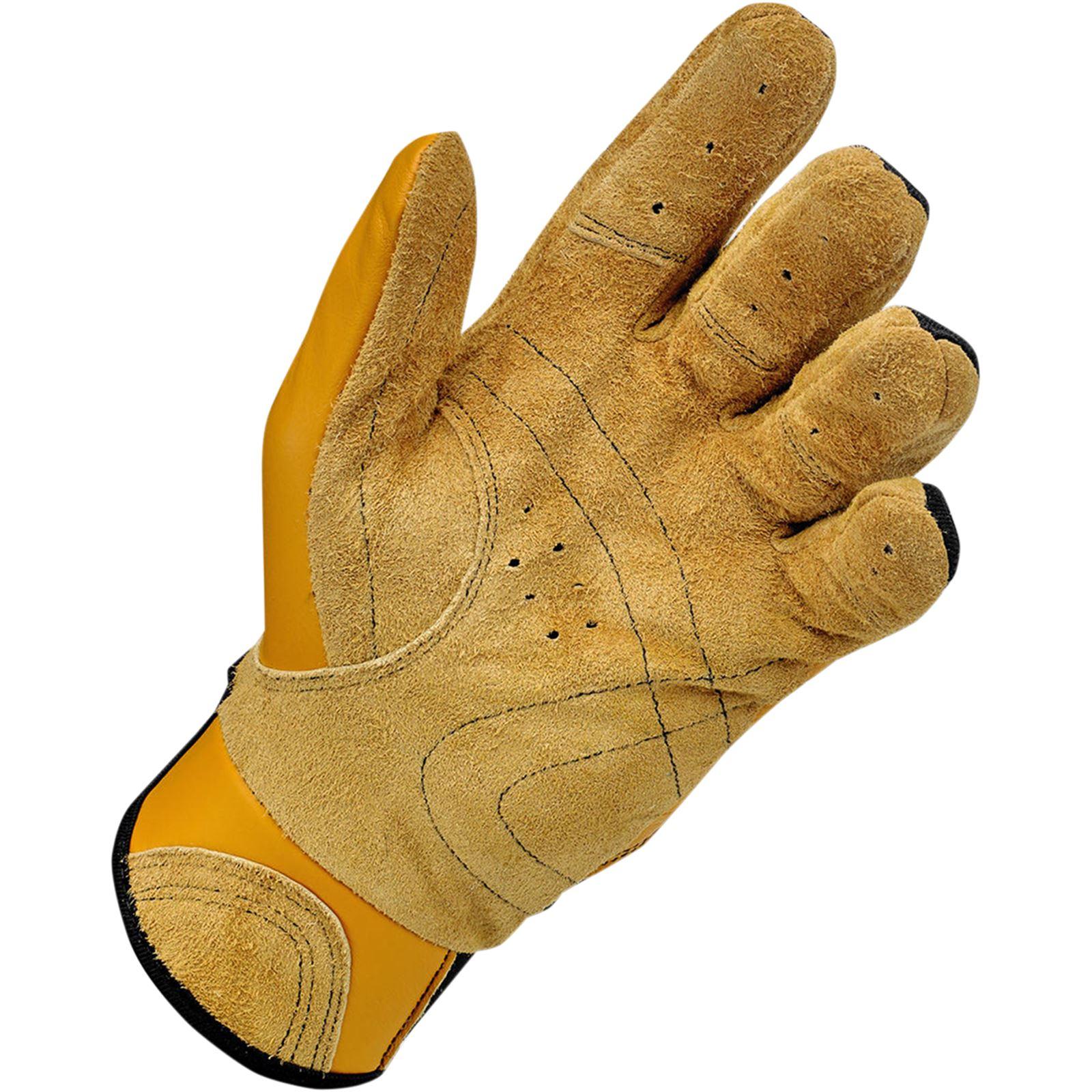 Biltwell Inc. Bantam Gloves - Tan/Black - Large