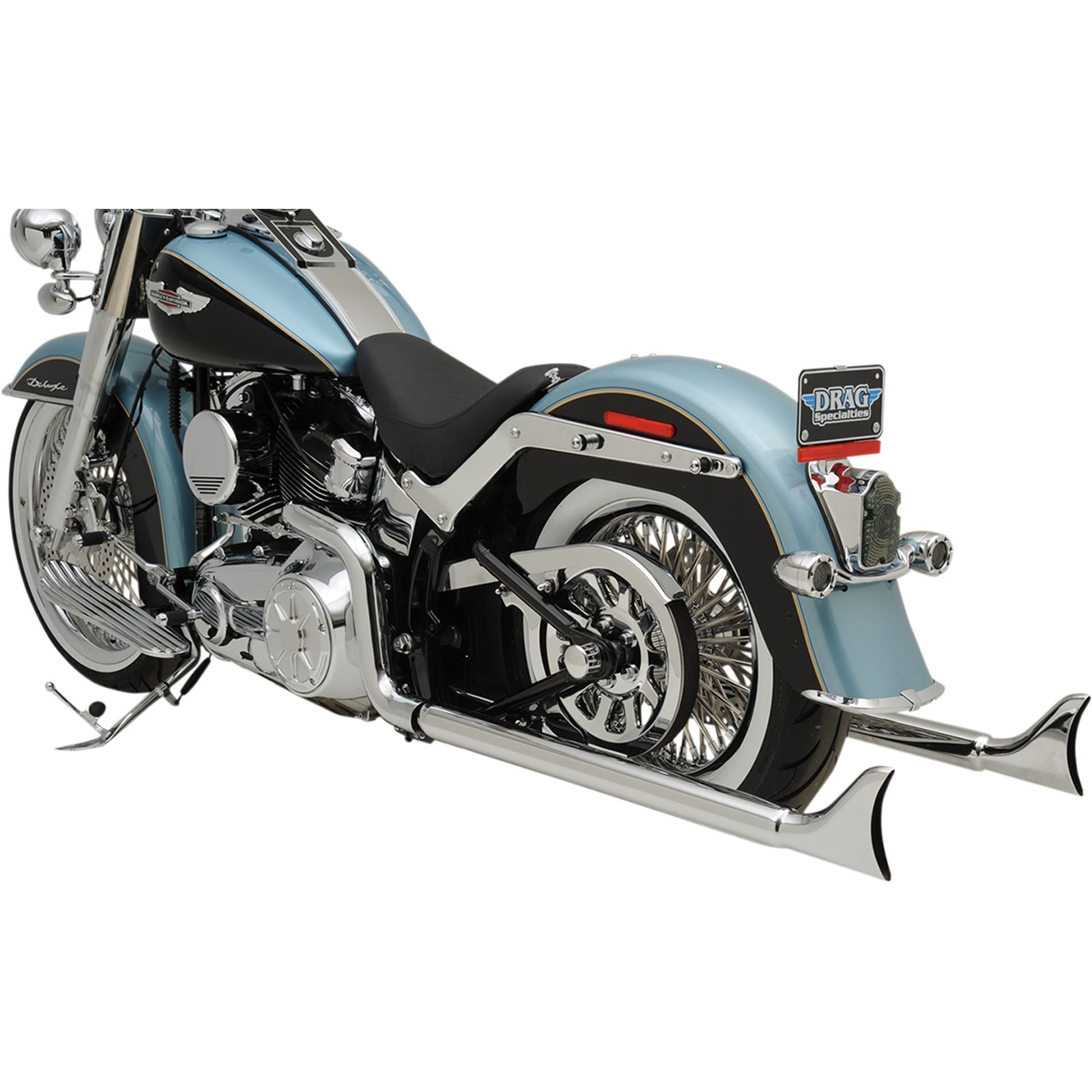 "Bassani Manufacturing Fishtail Exhaust - 36"" - Softail"