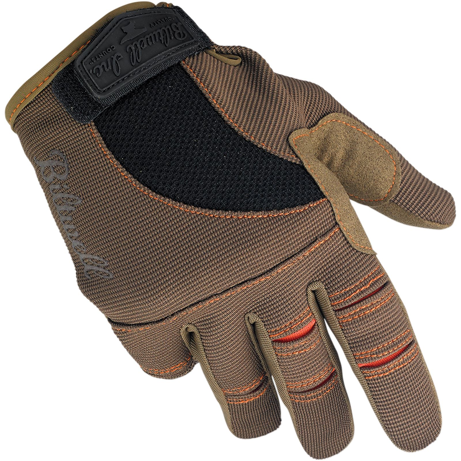 Biltwell Inc. Moto Gloves - Brown/Orange - X-Large