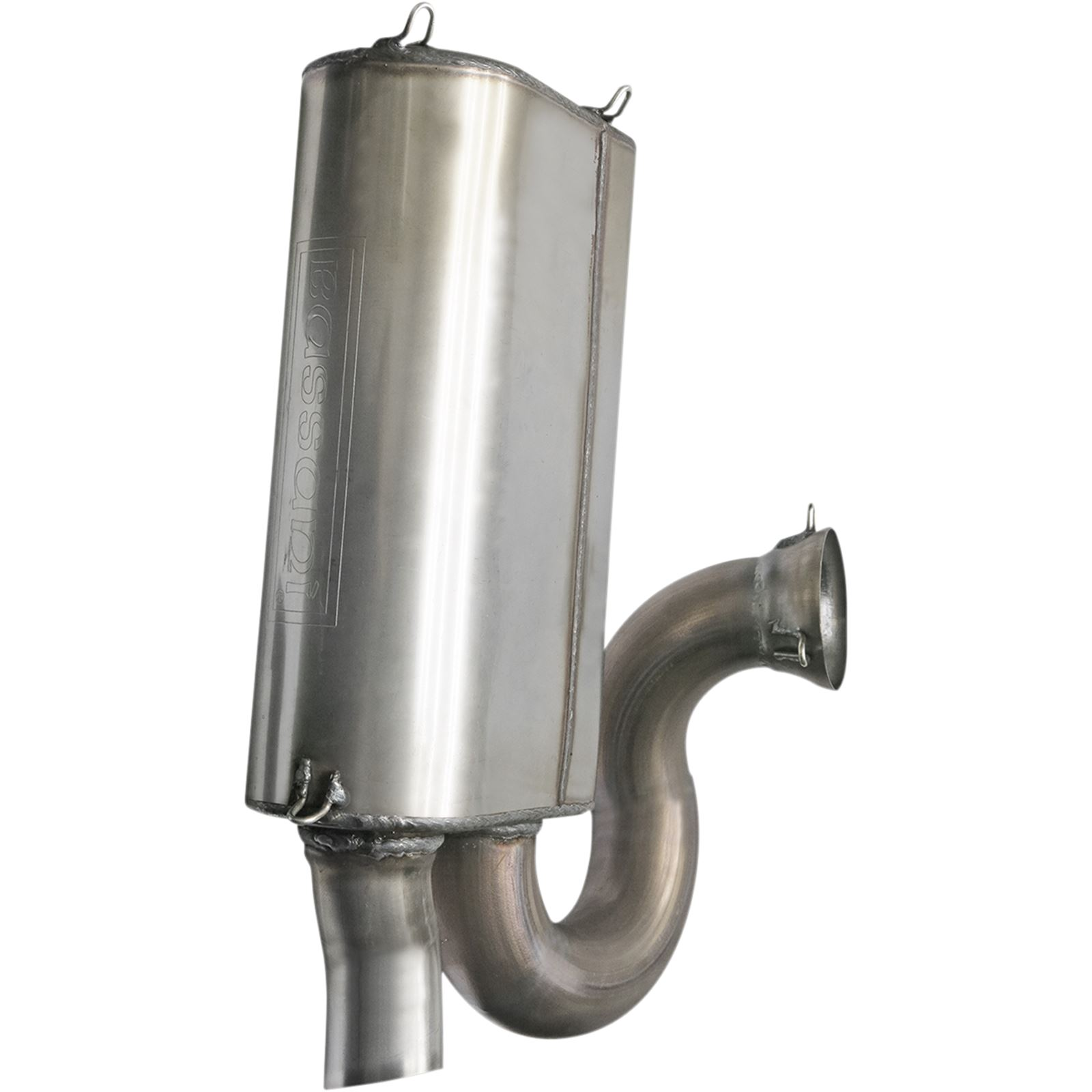 Bassani Manufacturing Muffler - Stainless Steel - Slingshot