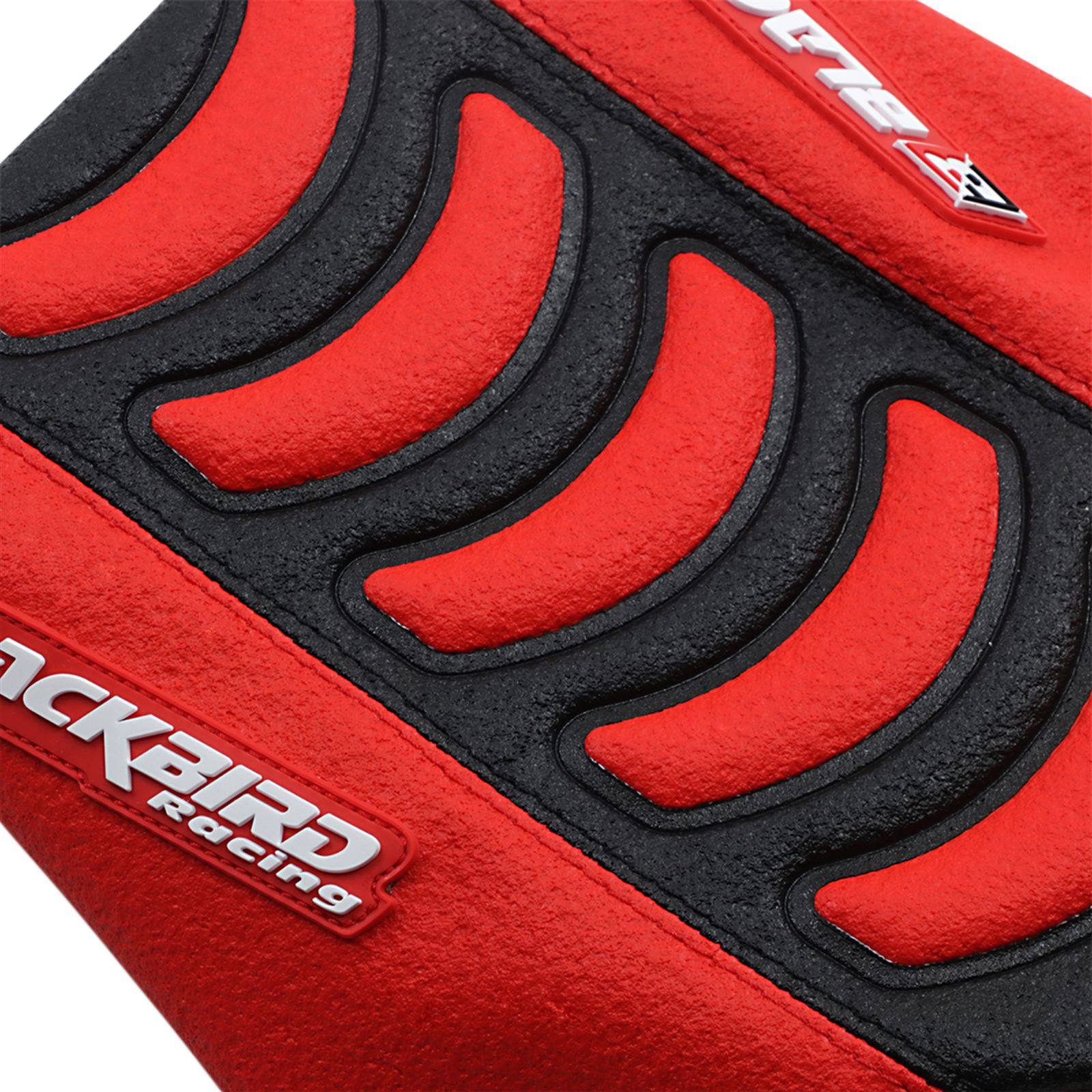 Blackbird Racing Double Grip 3 Seat Cover - Black/Red - CRF