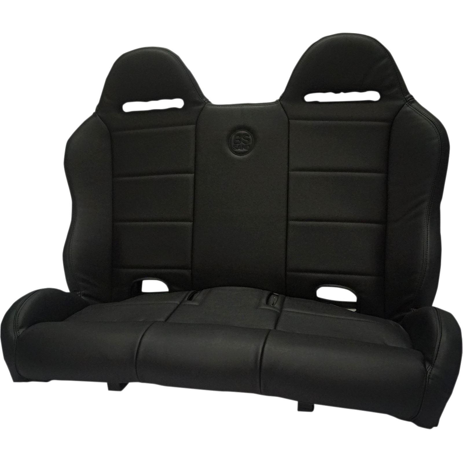 BS Sand Performance Bench Seat - Straight - Black