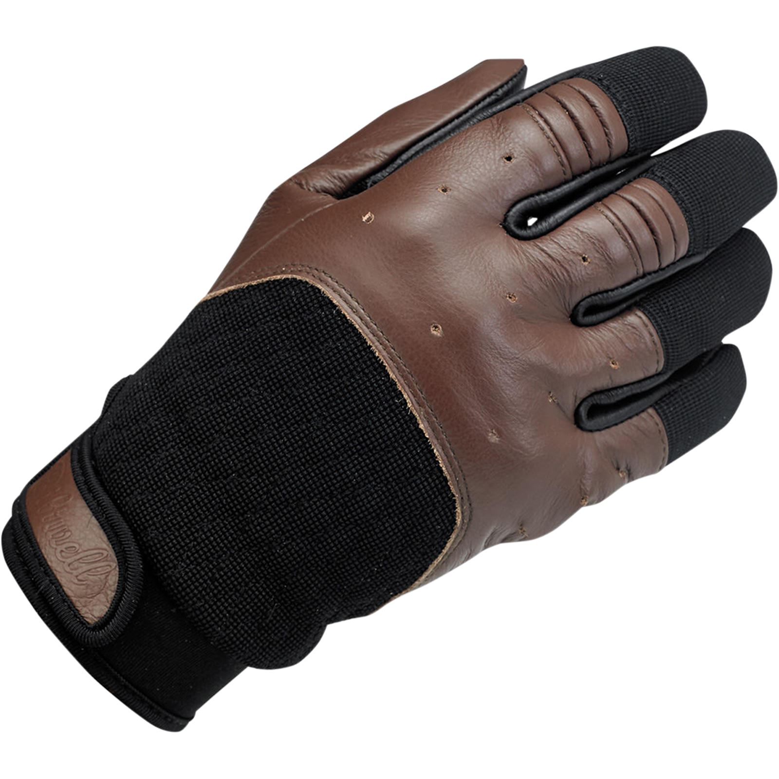 Biltwell Inc. Bantam Gloves - Chocolate/Black - Small