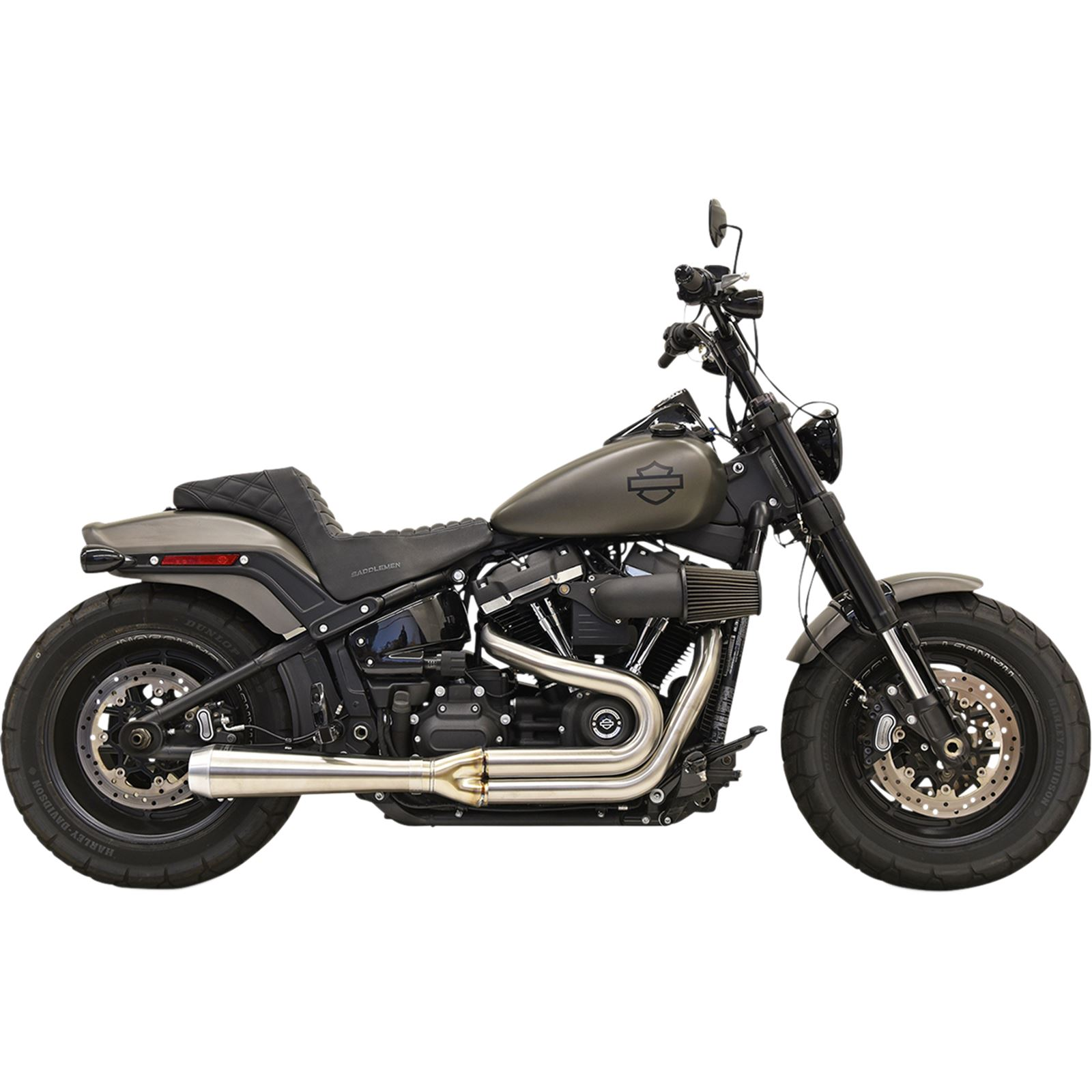 Bassani Manufacturing 2:1 Exhaust - Stainless Steel