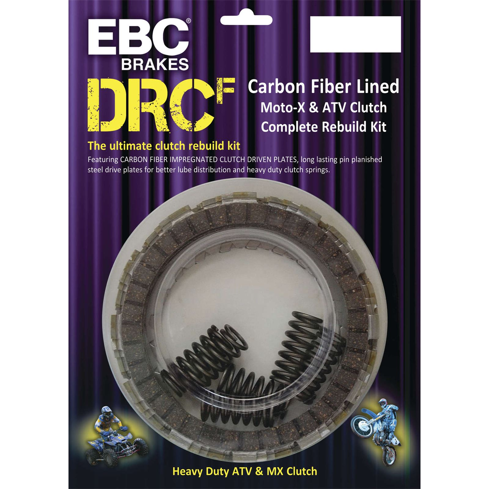 EBC Dirt Racer Carbon Fiber Clutch Kit