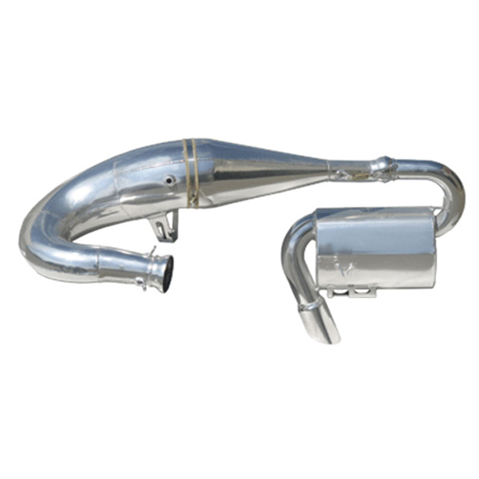 Starting Line Products Single Pipe w/Y-Pipe & Silencer