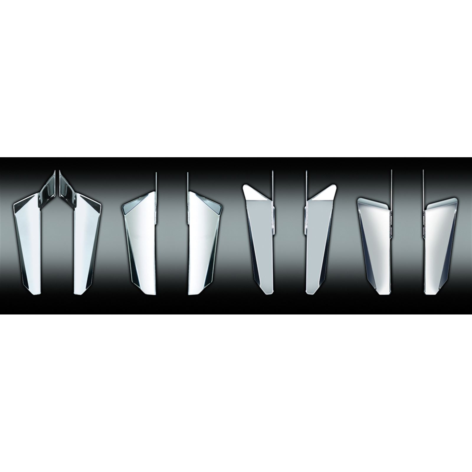 National Cycle Switchblade Windshield Chrome Lower